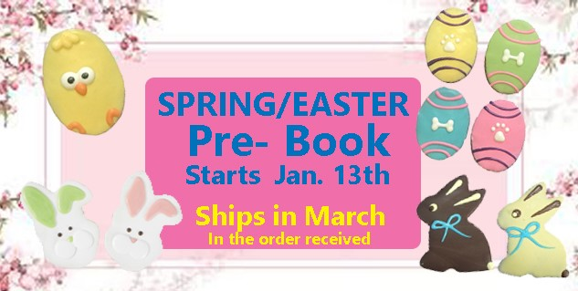 EASTER & Spring 2020 (Easter Deadline March 4)