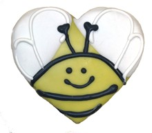 Honey Bee Heart - 20 Ct Case BKY:SPG:00100