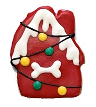 PRE-BOOK ITEM Christmas Dog House - 16 Ct Case BKY:CMAS:00452