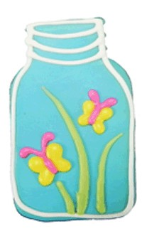 Springtime Mason Jars  20 Count Case 210