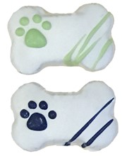 SB MINI - Puppy Prints Bone (40 ct case) BKY:SBM:00331