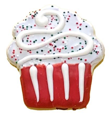 PRE-BOOK ITEM Holiday Cupcake - 20 Ct Case BKY:CMAS:00169
