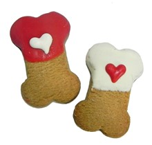 SB MINI - Bitty Hearts Bones (2 Available) - 40 Ct Case BKY:SBM:00307