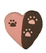 Pink & Brown Heart  20 Count Case 389