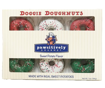Holiday Doughnut Box: 8 ct case GFB:GIF:02036H