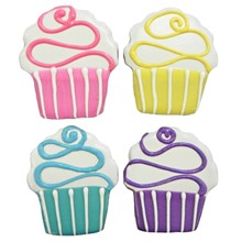 Colorful Cupcakes - 20 Ct Case BKY:EVD:00363
