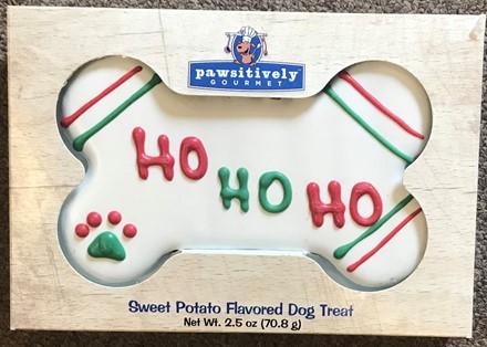 Gift Box: Ho Ho Ho 6 inch bone GFB:6inGFB:00885