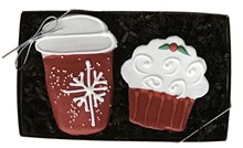 Holiday Pup Coffee House Gift Box 6 Count Case 823
