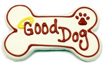 "6"" Good Dog Bone Bulk - 6 Ct Case BKY:6in:00842"