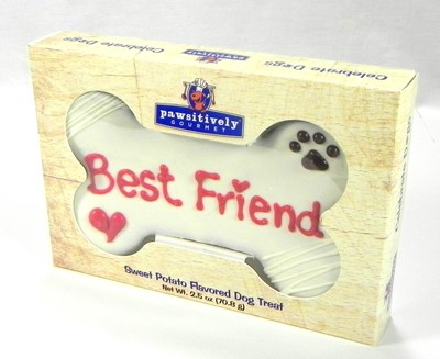 "6"" Best Friend Bone  Gift Box - 6 Count Case 874"