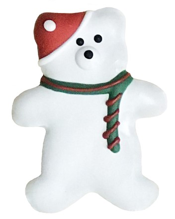 Holiday Teddy Bear - 20 Ct Case BKY:CMAS:00324