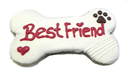 "6"" Best Friend Bone Bulk - 6 Ct Case BKY:6in:00836"