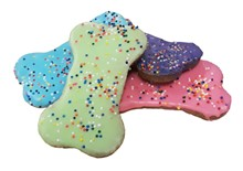 "4"" Colorful Confetti Bones - 20 Ct Case BKY:WIN:00123"