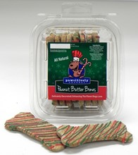 Peanut Butter Bones, Holiday - 8 Ct Case PCK:SMP:00706