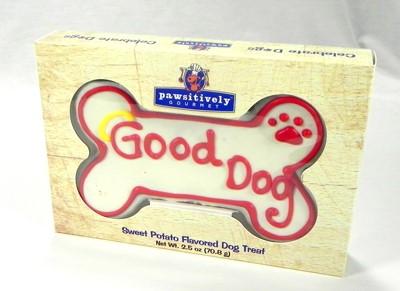 "6"" Good Dog Bone  Gift Box - 6 Count Case 844"
