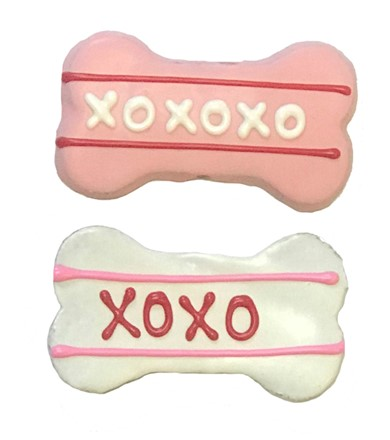 "Valentine xoxo 4"" bones BKY:VAL:00054"