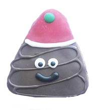 Holiday Poop Emoji - 20 Ct Case BKY:CMAS:00167