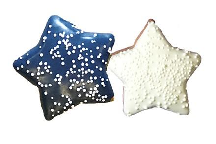 Winter Short Bread Mini Stars - 40 Ct Case BKY:WIN:00302