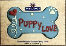 """6"""" Puppy Love Bone- Gift Box  6 Count Case 873"""