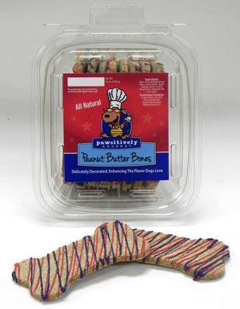Peanut Butter Bones  Summer - 8 ct case 704