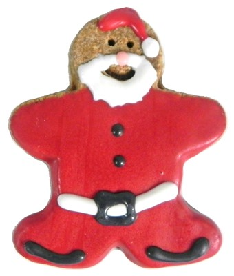Santa Claus Gingerbread Man - 20 count case BKY:CMAS:00164