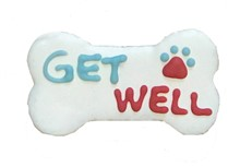 "GET WELL 4"" Bone (20 Ct. Case) BKY:EVD:00016"