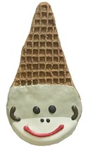 Sock Monkey Cone - 20 Ct Case BKY:EVD:00026