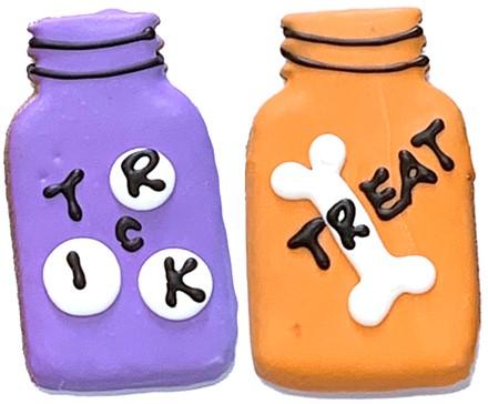 Trick or Treat Mason Jars - 16 Ct Case BKY:HAL:00192