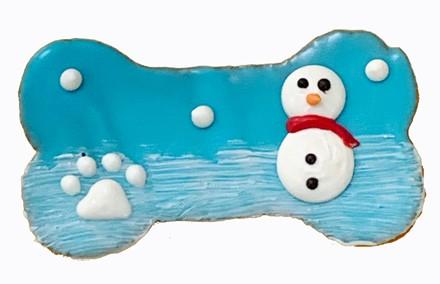 """4"""" Winter Snowman Bone - 20 Ct Case BKY:WIN:00123"""