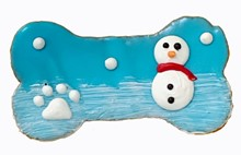 "4"" Winter Snowman Bone - 20 Ct Case