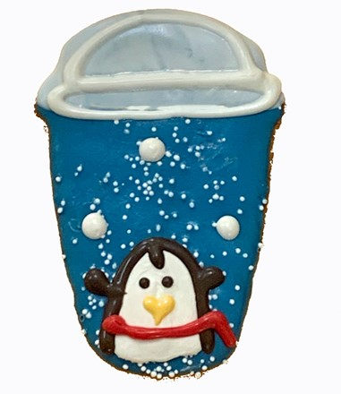 Venti 2 Pump Penguin Latte - 16 Ct Case BKY:WIN:00168