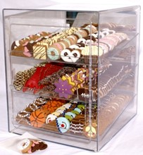 Large Bakery Case with 16cs. Cookies (Save $50!) MRC:BCS:BC01-WC